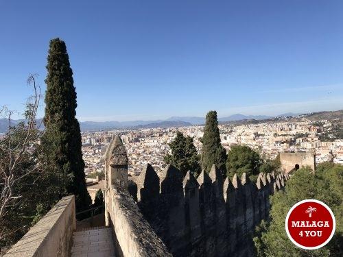 top 10 Malaga castillo gibralfaro