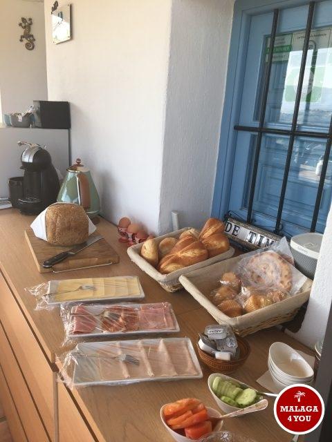 b&b viva españa ontbijt