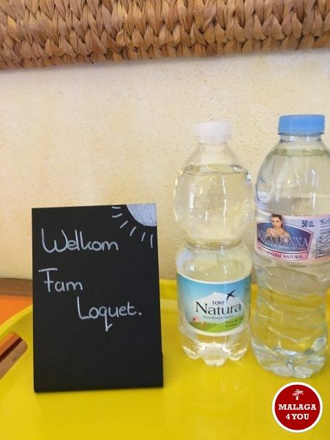b&b viva españa flesjes water