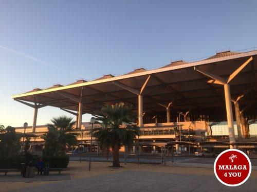 luchthaven Malaga gebouw