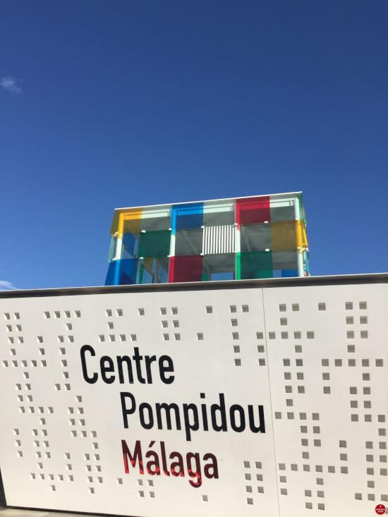 Centre Pompidou Malaga voorkant