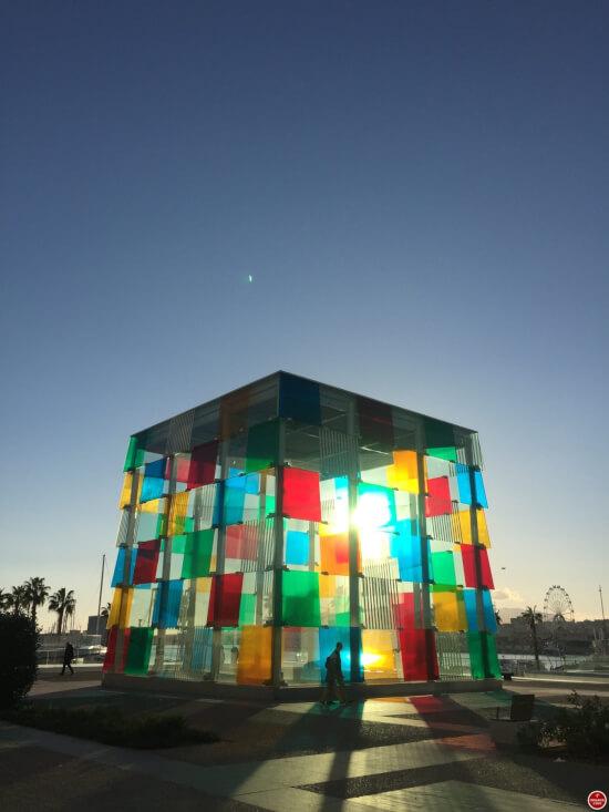 Centre Pompidou Malaga kubus