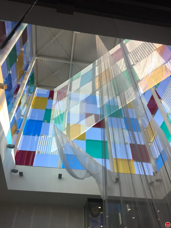 Centre Pompidou Malaga kubus inside