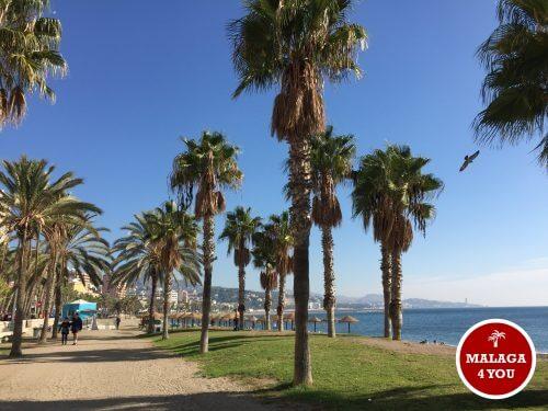 Malaga Malagueta strand