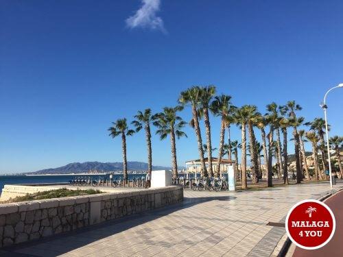 boulevard strand Malaga