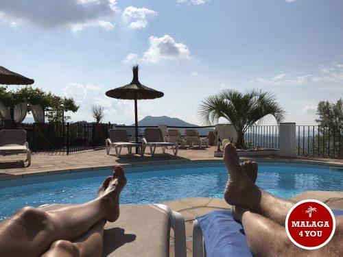 casa paz y más chillax aan de pool