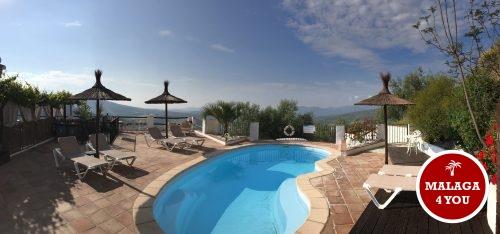 casa paz y más zwembad vanuit de ligzetel