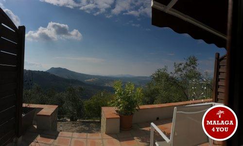 casa paz y más uitzicht vanop ons kamer terras