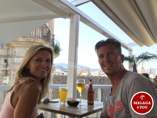 terraza de San Juan bar genieten