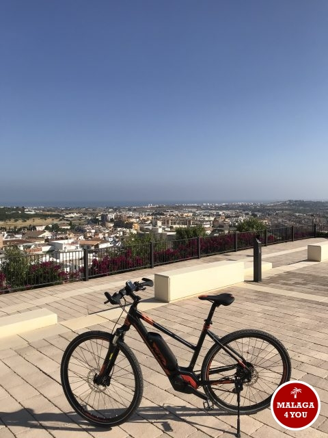 5 star bike tours zicht torre del mar