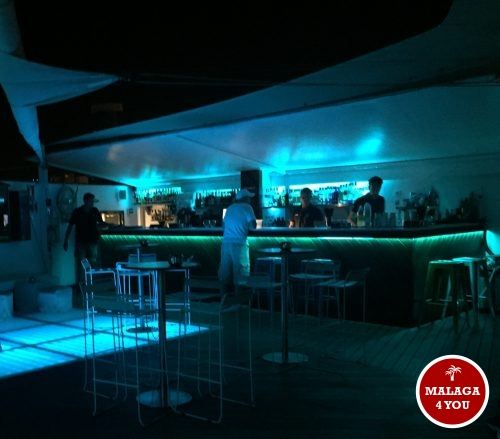 batik rooftop trendy bar night