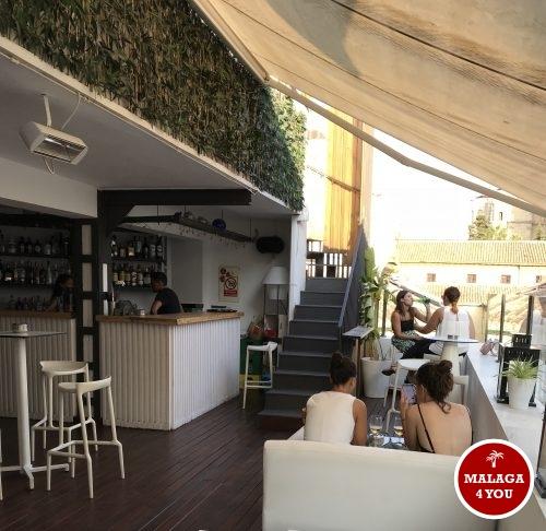 chinitas rooftop bar