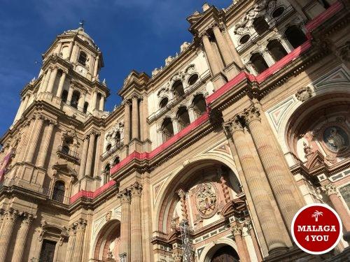 kathedraal la manquita malaga front