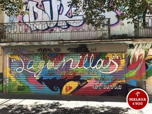 lagunillas grafitti plaza de merced victoria malaga