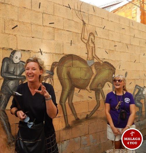 stadsgids malaga street art tour