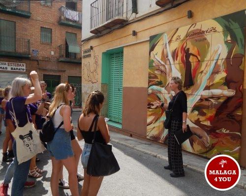 stadsgids Malaga soho