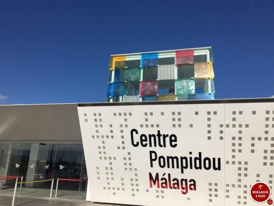 1 dag in Malaga - centre pompidou