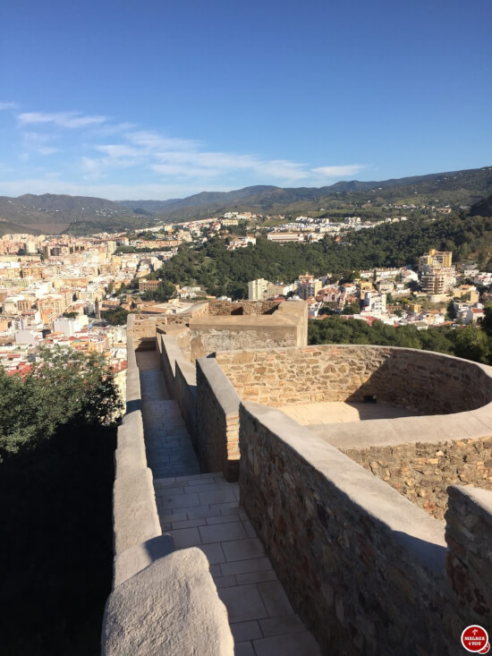 1 dag in Malaga - gibralfaro ommuring