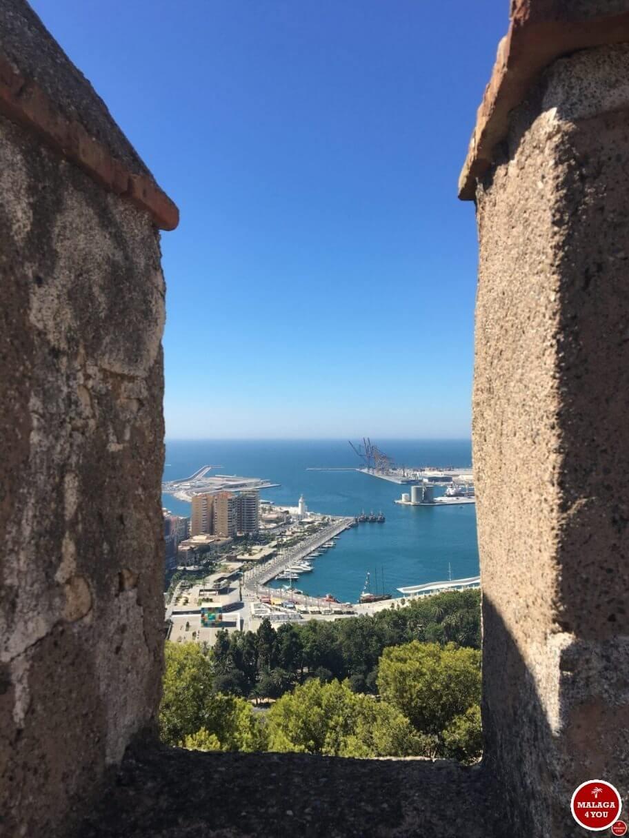 1 dag in Malaga - gibralfaro view