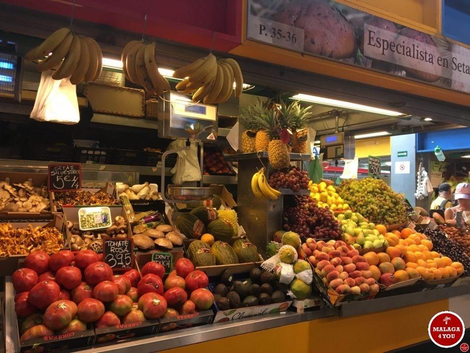 1 dag Málaga - Mercado Atazaranas fruit
