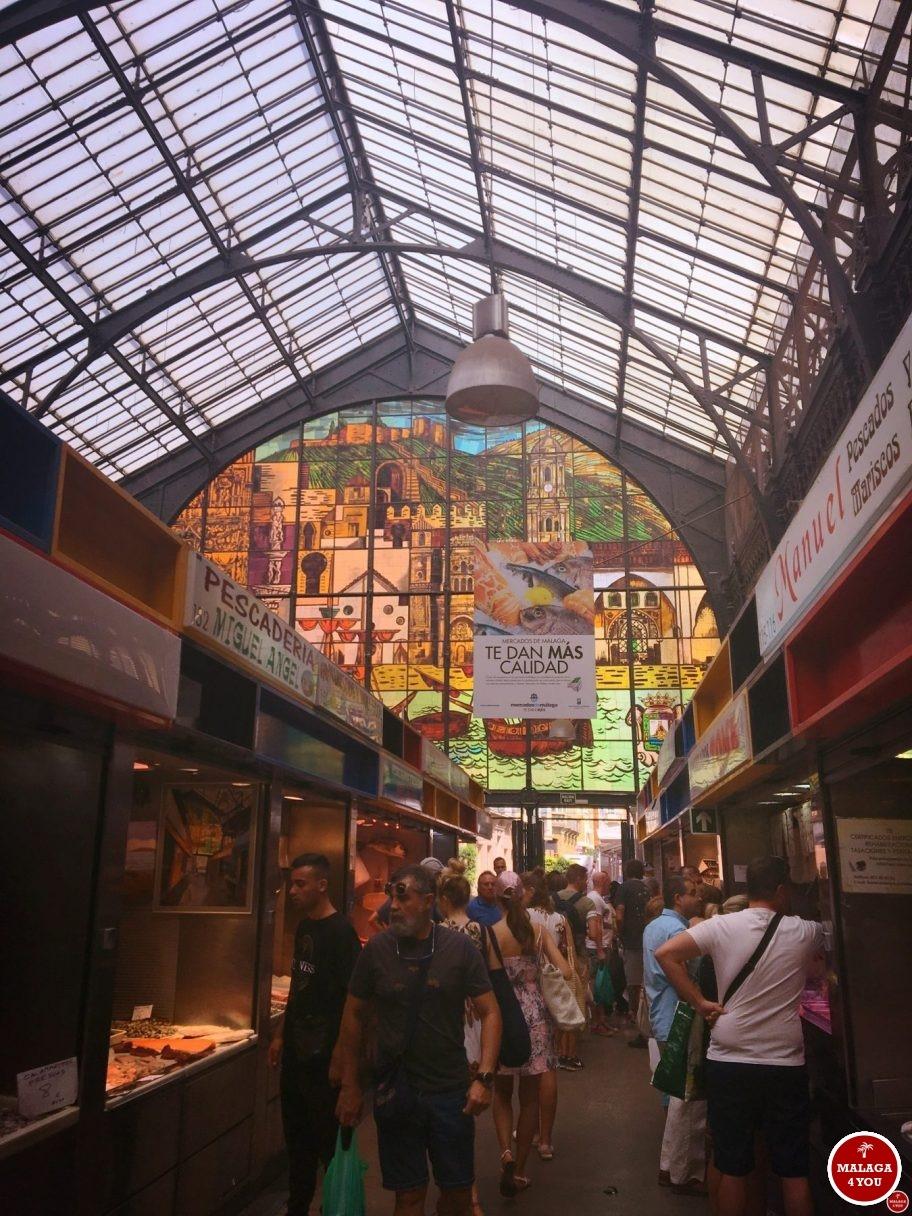 1 dag Málaga - Mercado Atarazanas view