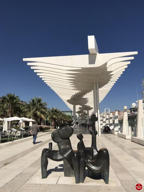 1 dag in Malaga - muelle dos el palmeral de las sorpresas