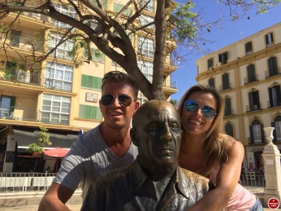 1 dag in Malaga - pablo picasso