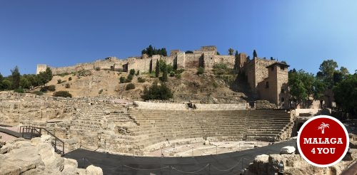 1 dag in Malaga - teatro romano