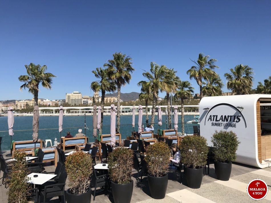 Atlantis Sunset Lounge bar muelle uno