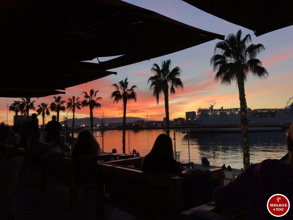 Atlantis Sunset Lounge bar zonsondergang