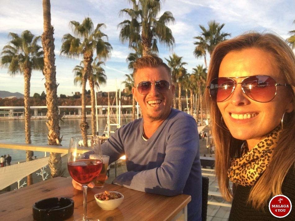 Atlantis Sunset Lounge bar karin steven malaga4you