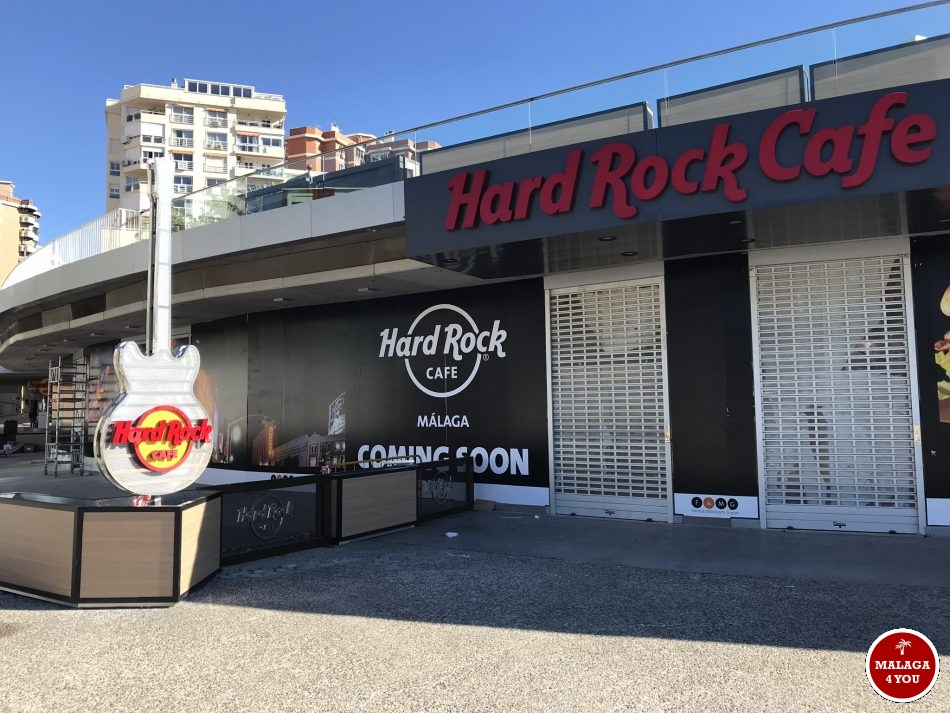 Hard Rock Cafe Málaga - gitaar