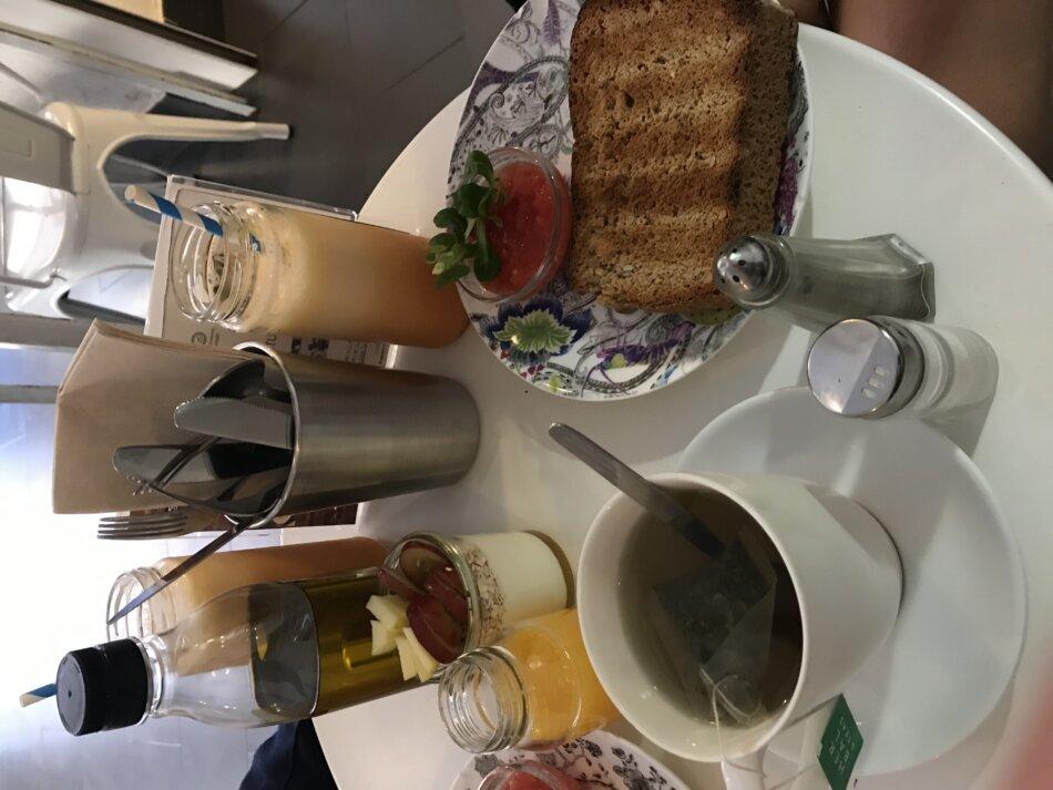 Dulces Dreams ontbijt koffie