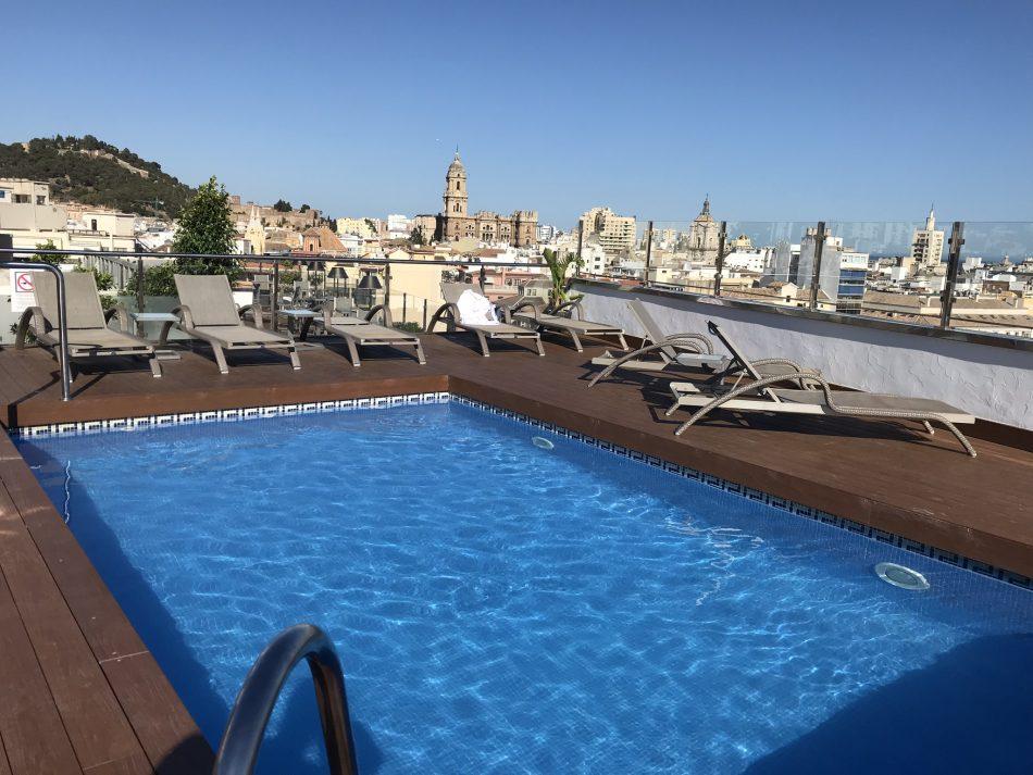 Hotels Malaga centrum Salles centro malaga zwembad rooftop
