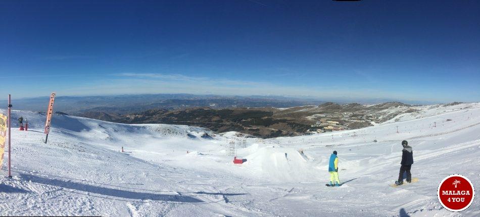 sierra nevada view