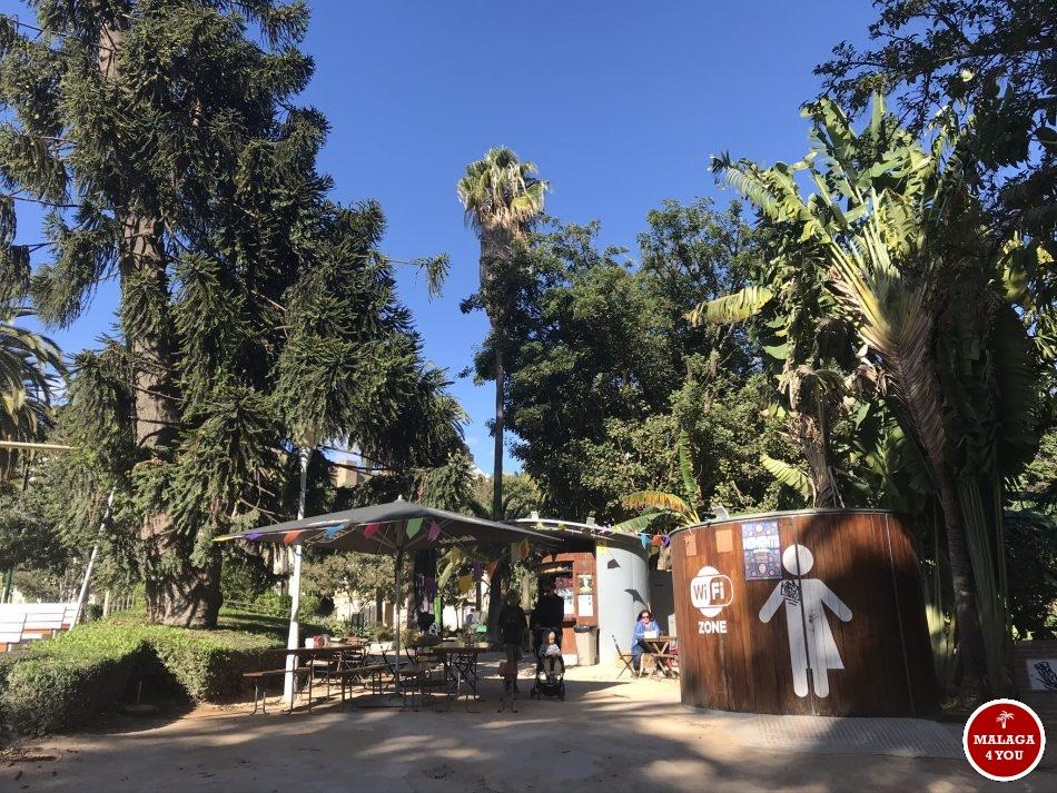 silverstre cafe park malaga