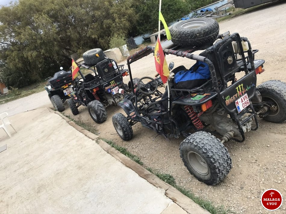 Buggy Andalucia buggy tour start
