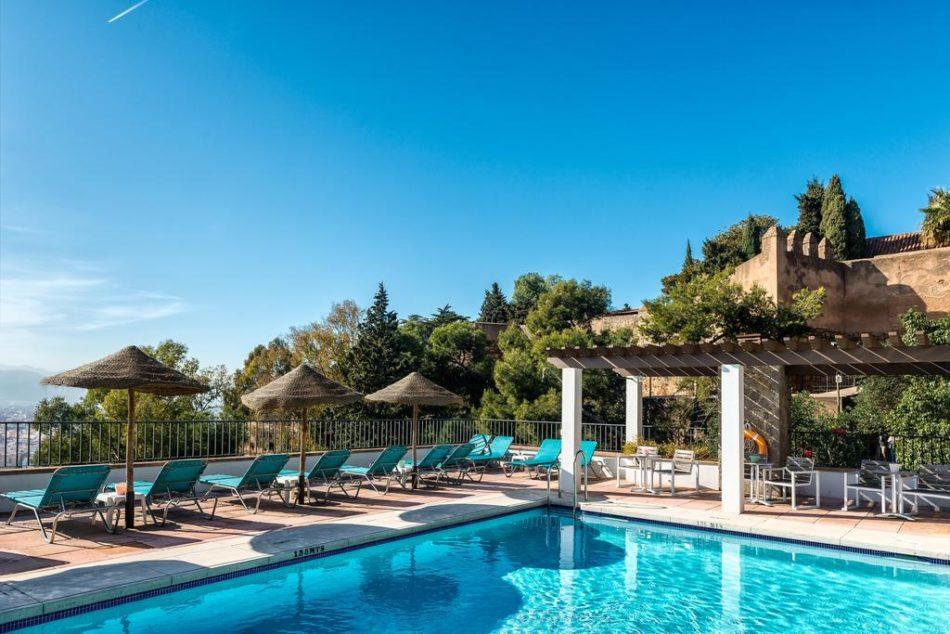 Hotels Malaga centrum Parador de Málaga Gibralfaro