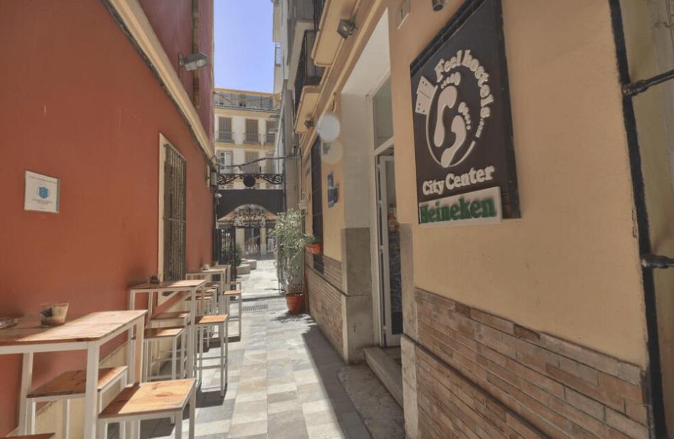 goedkope hostels Malaga Feels hostel