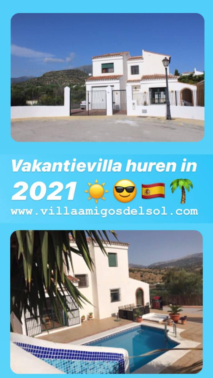 vakantievilla ten oosten van Malaga