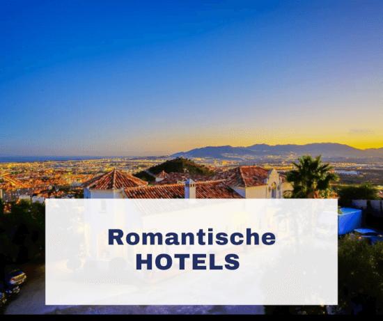 Romantische hotels overzicht selectie stad Malaga