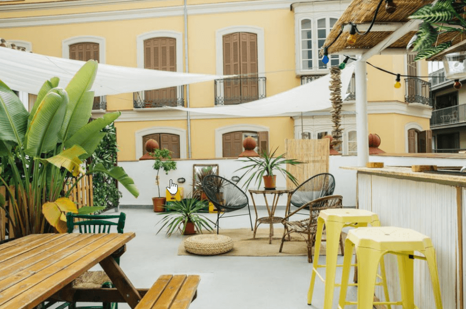 goedkope hostels Malaga The Urban Jungle
