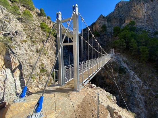 puente colgante del saltillo