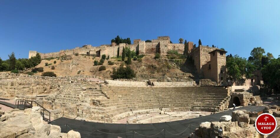 Alcazaba teatro romano Malaga