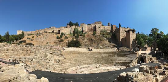 Malaga Alcazaba teatro romano
