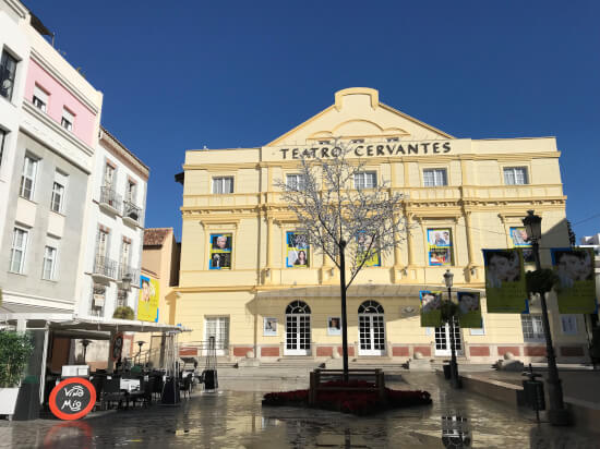Malaga theater Cervantes