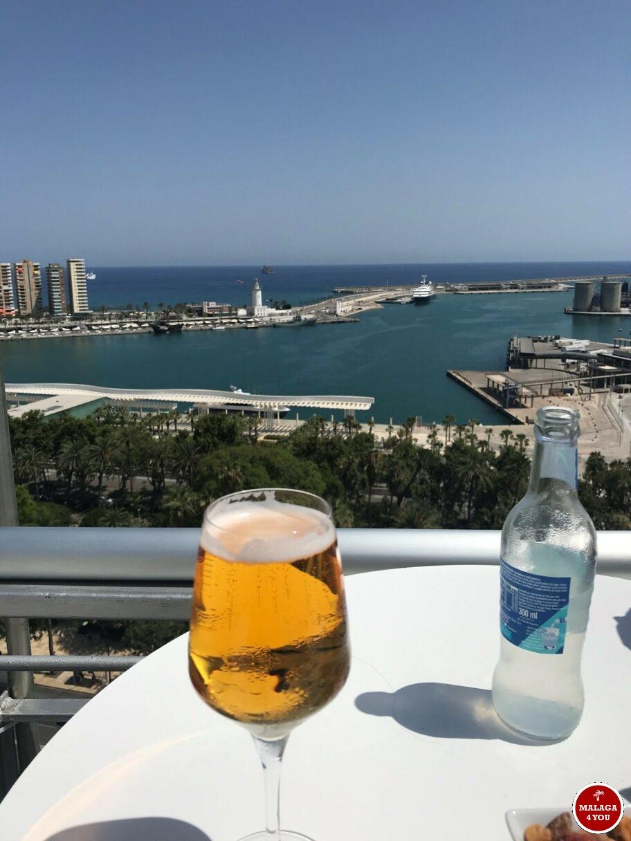 rooftop bar cerveza Malaga