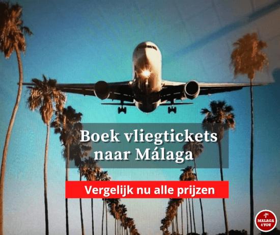 Malaga vergelijk de prijzen van de vliegtickets