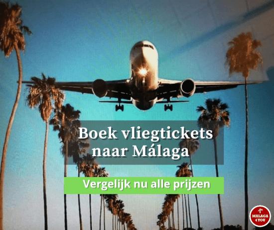 Malaga airport vliegtickets