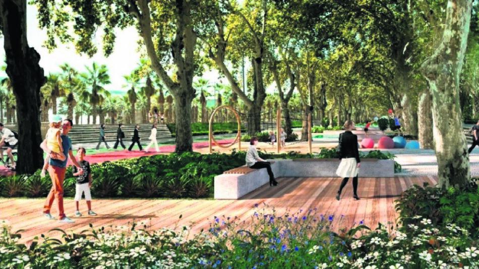 litoraal plan malaga nieuwe groene zones